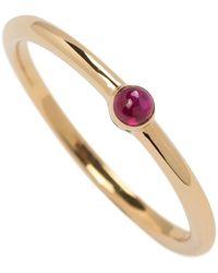 Joana Salazar - Calendar Ruby Solitaire Ring - Lyst