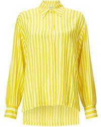 Kalmar Celia Yellow Brush Stripe Mix Stripe