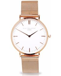 Elie Beaumont Oxford Small Mesh Rosegold - Multicolor