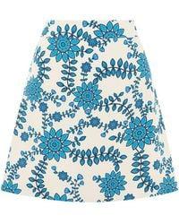Valle & Vik Mini A Skirt - Blue