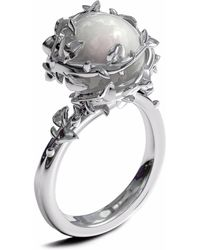 Kasun - Ivory Pearl Ring - Lyst