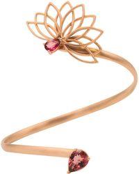 Joana Salazar - Lotus Flower Side Bracelet - Lyst