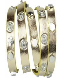 STYLESTRING Multi Functional Accessory Gold On Gold - Metallic