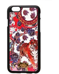 Jessica Russell Flint - Leather Coated Iphone 6 Case Crazy Circus - Lyst