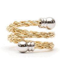 Serge Denimes - Gold Rope Ring - Lyst