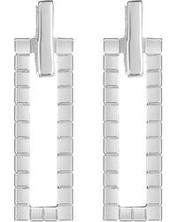 Neola - Sterling Silver Cube Earrings - Lyst