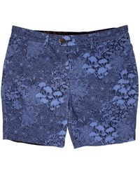 lords of harlech John Lux Paisley Floral Navy - Blue