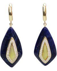 Bellus Domina - Lemon Jade Festino Earrings - Lyst