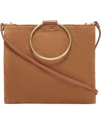 Thacker NYC - Le Pouch In Cognac Suede - Lyst
