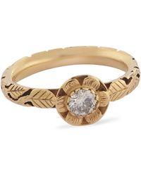 Emma Chapman Jewels Diamond Love Ring - Multicolour