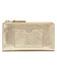 Thacker NYC - Nico Double Zip Wallet Vintage Gold - Lyst