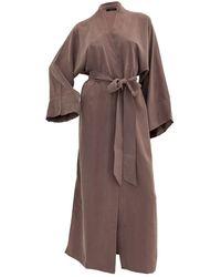 niLuu Blush Women's Kimono Robe - Multicolour