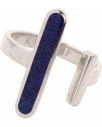 KIMSU - Sterling Silver Open Ring - Lyst