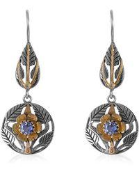 Emma Chapman Jewels Beauty Blue Sapphire Diamond Earrings