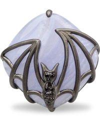 Bellus Domina - Bat Ring - Lyst