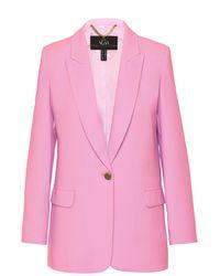Nissa Single-breasted Pink Blazer