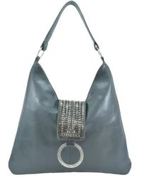 Lilla Lane Victoria Bombay Gray Shoulder Bag