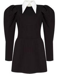 SELEZZA LONDON Sima Jersey Mini Dress - Black