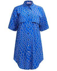 TOMCSANYI Garda Long Shirt - Blue