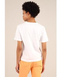 blonde gone rogue Candy Apples Organic Tee In White