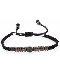 4Fellas - Masterpiece Black Bracelet - Lyst