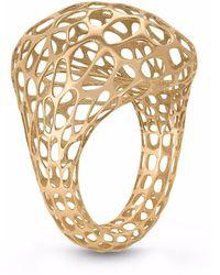 Vitae Ascendere - Bubble Gold Ring - Lyst