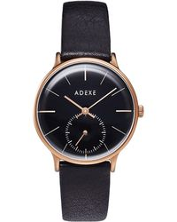 ADEXE Watches Freerunner Petite Black & Rose Gold - Multicolor