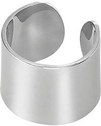 Dutch Basics - Ear Cuff Thick Silver - Lyst
