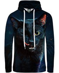 Aloha From Deer - Black Cat Hoodie - Lyst