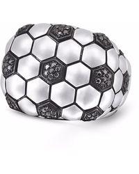 LMJ Kick & Goal Soccer Head Ring - Metallic