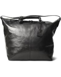 Maxwell Scott Bags - Luxury Italian Leather Women's Holdall Bag The Liliana Night Black - Lyst