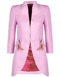 The Extreme Collection - Blazer Dalila Pink - Lyst