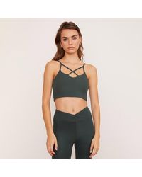 Wolven Thyme Crisscross Four Way Top - Grey