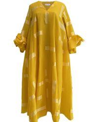 DANEH Asma Tulip Dress - Yellow