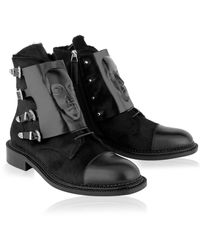 Ganor Dominic Ares Black Buckle