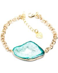 Tiana Jewel - Savannah Sea Green Bracelet Zahara Collection - Lyst