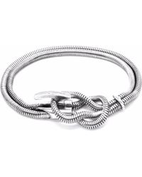 Anchor & Crew | Silver Padstow Mooring Chain Bracelet | Lyst