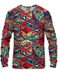 Aloha From Deer Pandoras Box Sweatshirt - Red