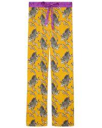 Jessica Russell Flint Pyjama Bottoms - Yellow