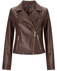 Baukjen Everyday Biker Jacket Dark Chocolate Brown