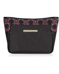 Catherine & Jean - Catherine Clutch In Inky Butterfly - Lyst