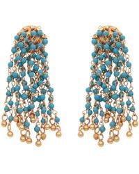 Carousel Jewels - Turquoise Waterfall Earrings - Lyst