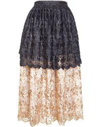 Jiri Kalfar - Black & Gold Skirt - Lyst