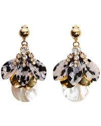 Nocturne - Lan Earrings Post - Lyst