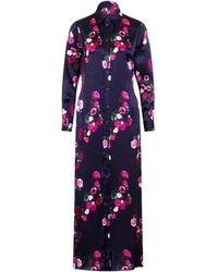 c29489ef Sophie Cameron Davies - Rose Silk Maxi Dress - Lyst
