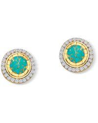Elham & Issa Jewellery - Mystique Diamond Studs - Lyst