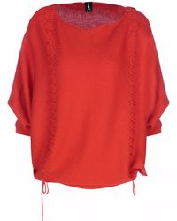 Adeela Salehjee - Arosa Orange Red Cashmere Jumper - Lyst