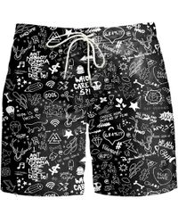 Aloha From Deer - Doodle Board Shorts - Lyst
