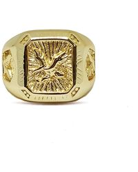 Serge Denimes - Gold Eagle Ring - Lyst