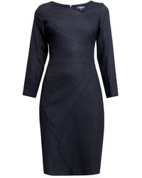 Rumour London - Alice Tailored Dress With Asymmetric Neckline - Lyst